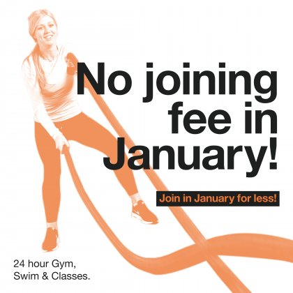 No joining fee on silver and gold memberships